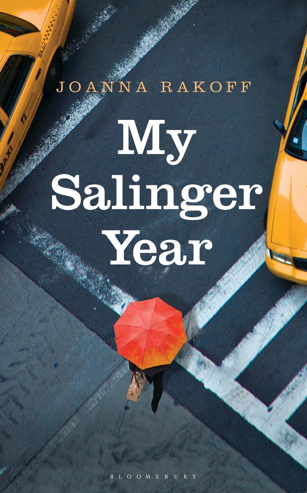 My Salinger Year by Joanna Rakoff - UK cover